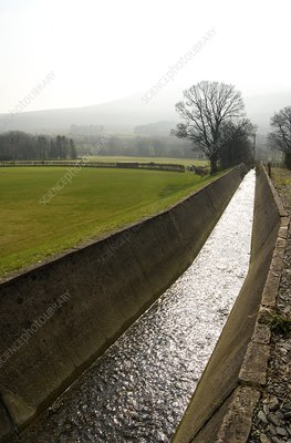 Lake District drainage channel