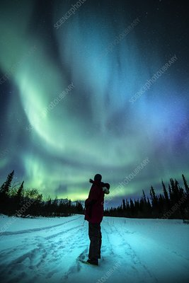 Aurora watching in the Arctic