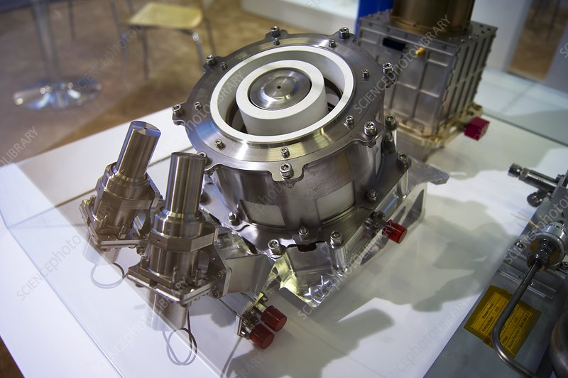 Spacecraft ion thruster