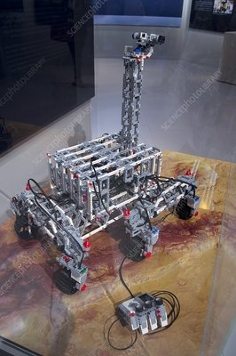 Lego model of ExoMars rover