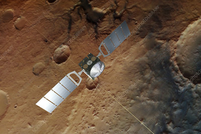 Mars Express spacecraft, illustration