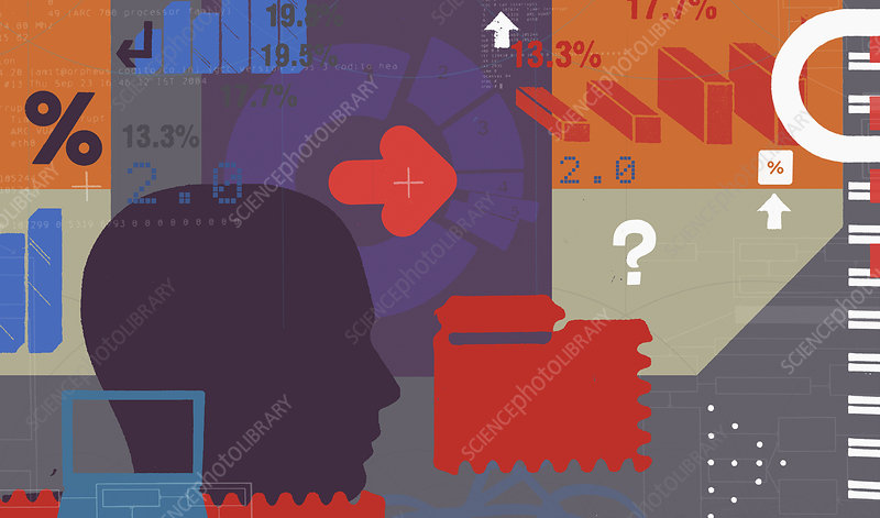 Business decisions, illustration