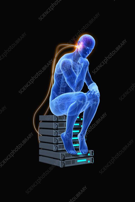 Artificial intelligence, illustration