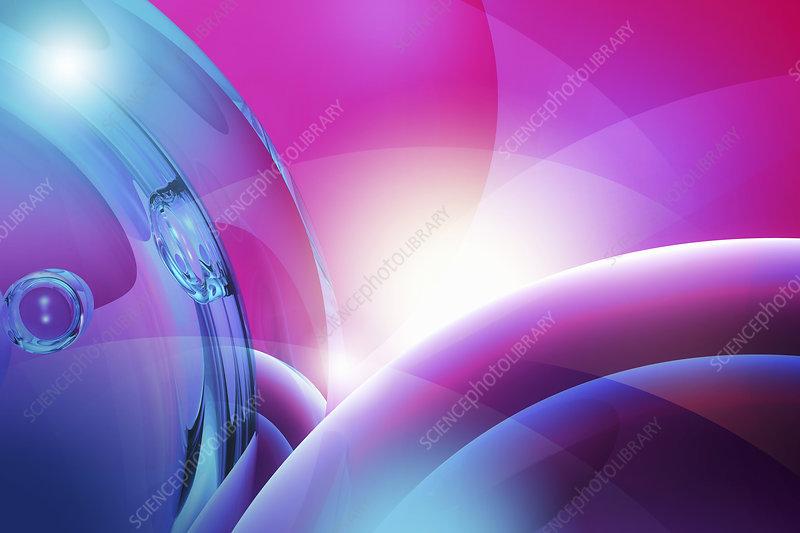 Bubbles, illustration