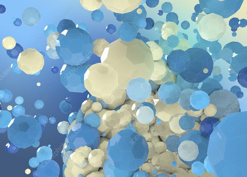 Spheres, illustration