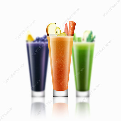 Smoothies, illustration