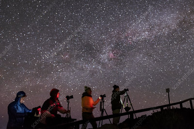 Astrophotographers in the Canary Islands