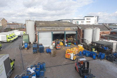 Waste cooking oil depot