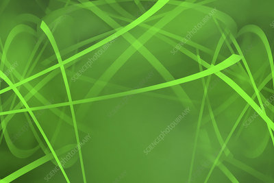 Abstract tangled pattern, illustration