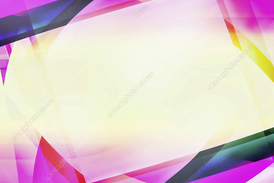 Abstract blank frame, illustration