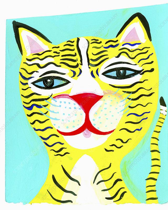 Cat, illustration