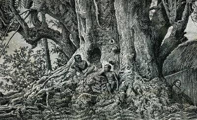 Nuku Hiva Pacific islanders, 19th century