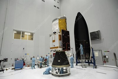 ADM-Aeolus satellite preparations