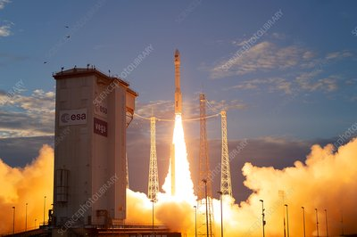 ADM-Aeolus satellite liftoff