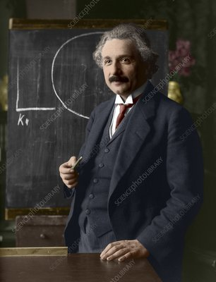 Albert Einstein, German-Swiss physicist