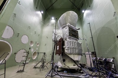 Acoustic testing of BepiColombo mission spacecraft