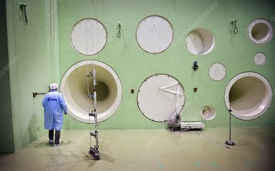 Large European Acoustic Facility acoustics test centre