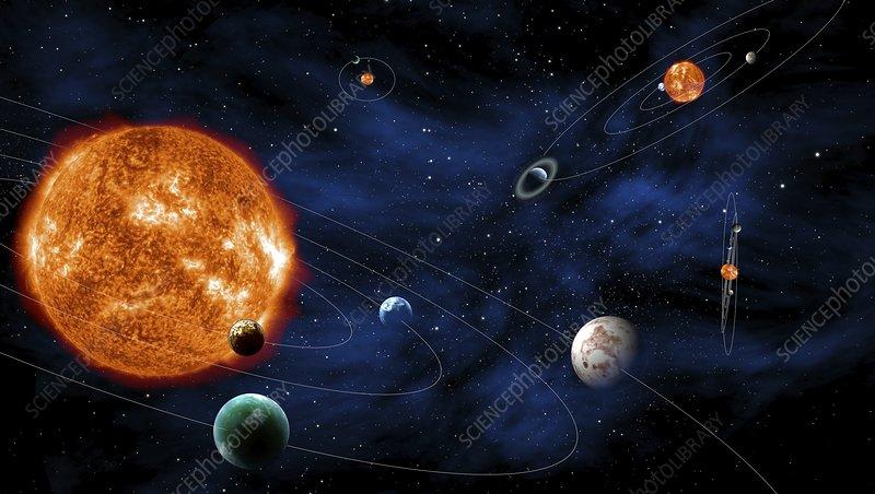 Exoplanets, artwork