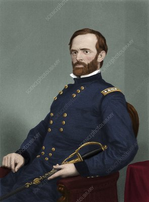 William T Sherman, US soldier