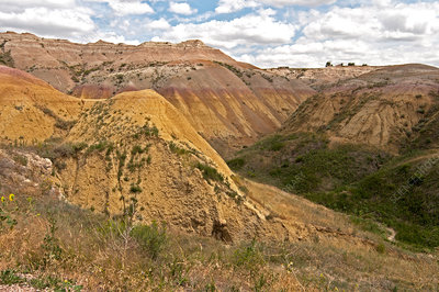 Yellow Mounds, Badlands National Park