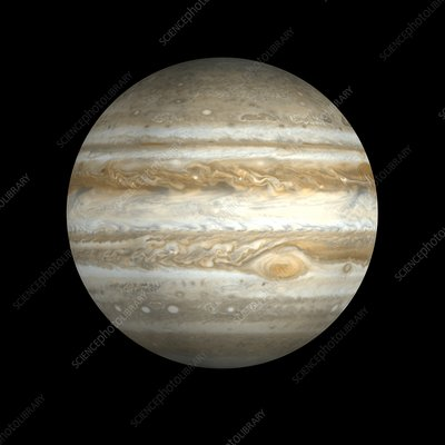 Jupiter, illustration