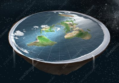 Flat Earth, illustration