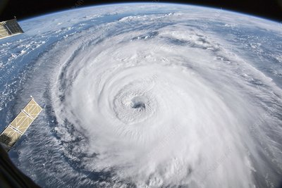 Hurricane Florence, ISS image