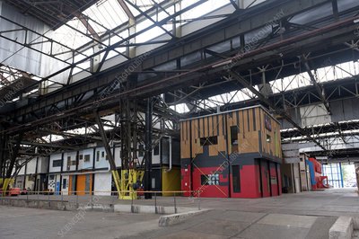 New workshops in ex-industrial building