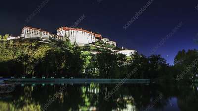 Jupiter and the Potala Palace