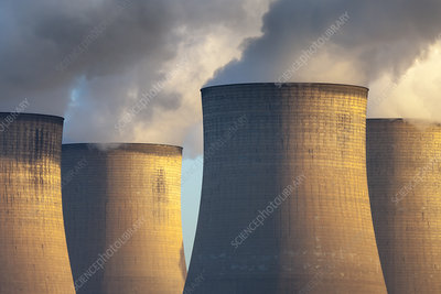 Ratcliffe-on-Soar coal-fired power station cooling towers