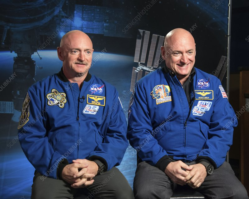 Twins Study with US astronauts Mark and Scott Kelly