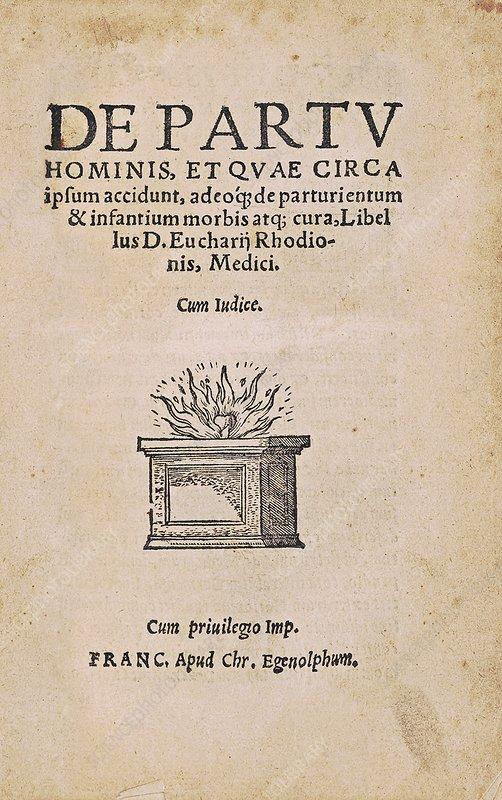 De partu hominis (1551)
