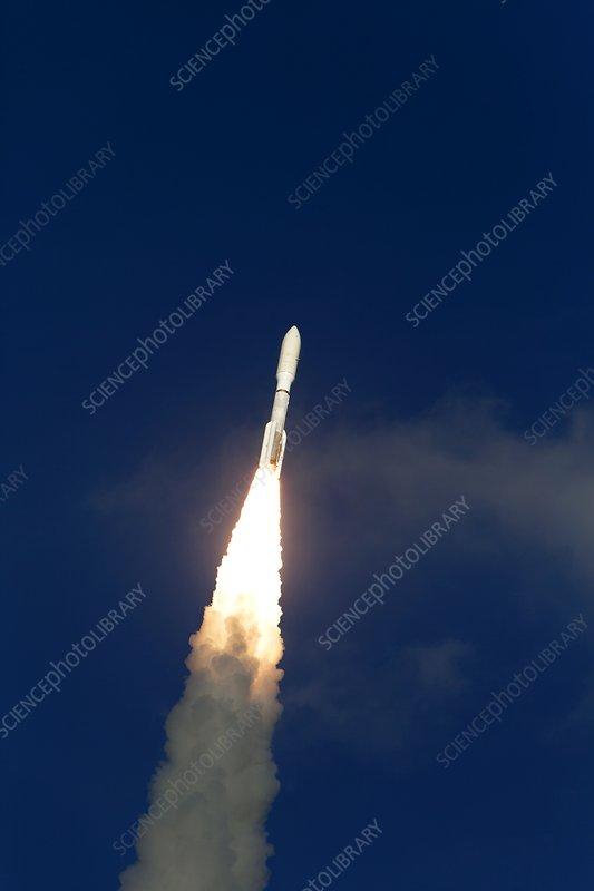 GOES-S satellite launch, 2018