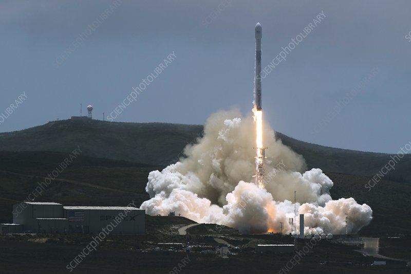 GRACE Follow-On satellite launch, 2018