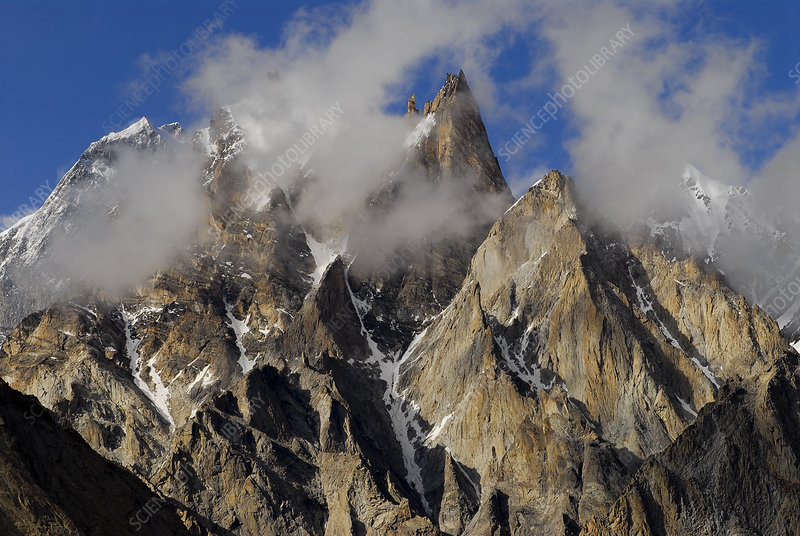 View of Trango Towers, Pakistan