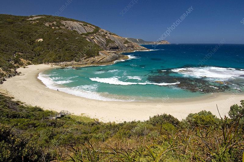 beach at Isthmus Bay, Australia