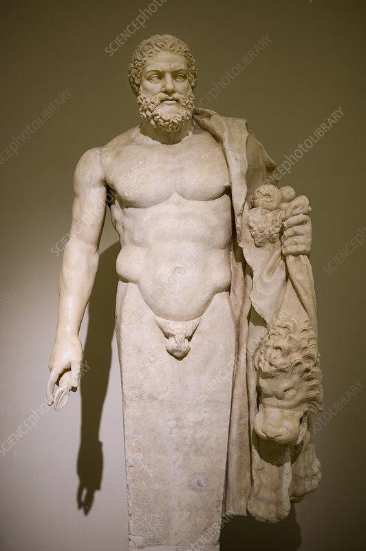 Roman statue of Hercules, 2nd century AD