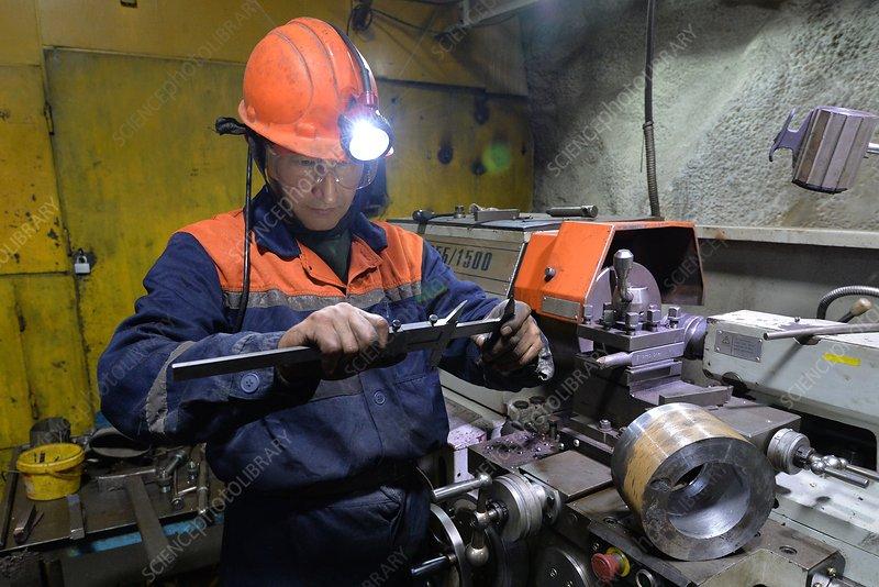 Copper mine, Russia