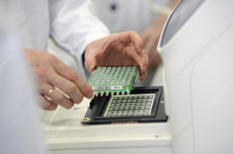Biotechnology laboratory, Russia