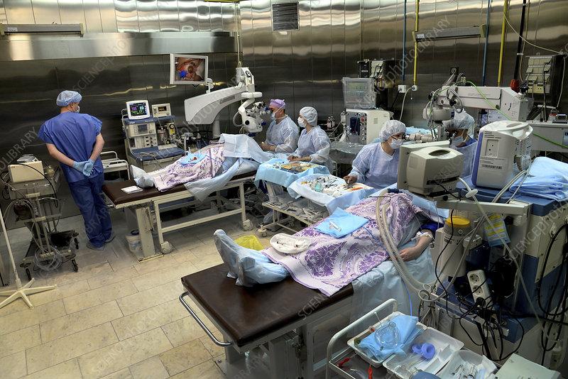 Eye microsurgery, Russia