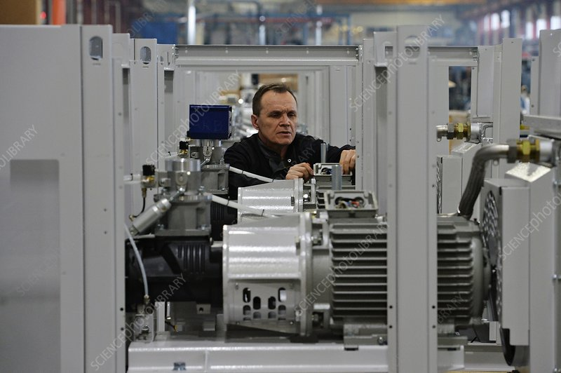 Compressor factory