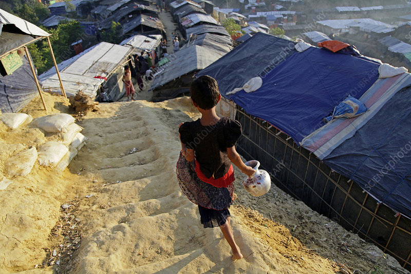 Rohingya refugee camp, Bangladesh