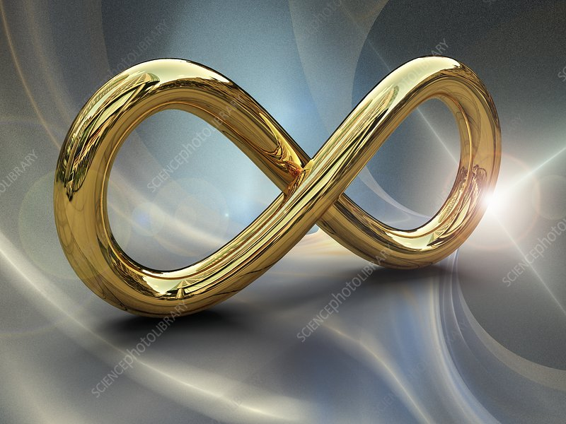 Infinity symbol, illustration