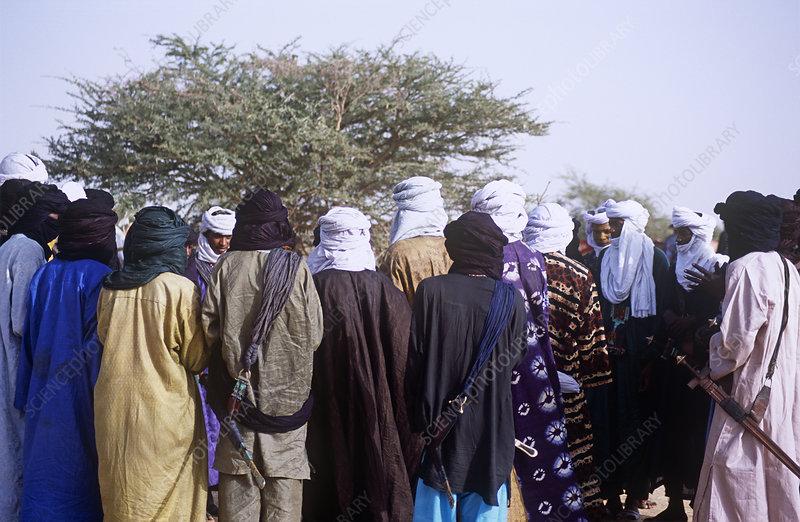 Gathering of Peul, Niger