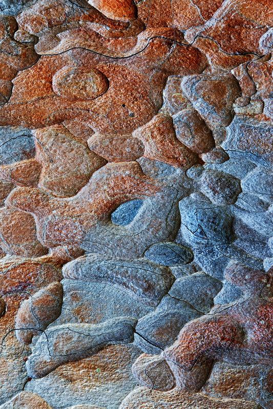 Patterns in rock, Dovrefjell National Park, Norway