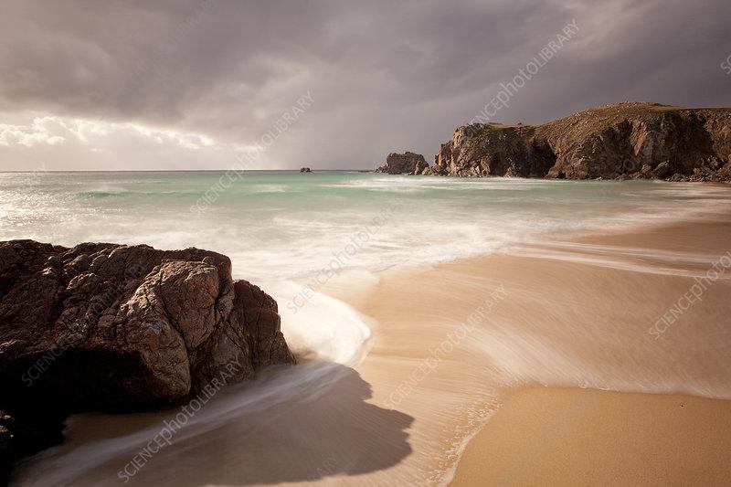 Mangerstadh beach, Lewis, Western Isles, Scotland, UK