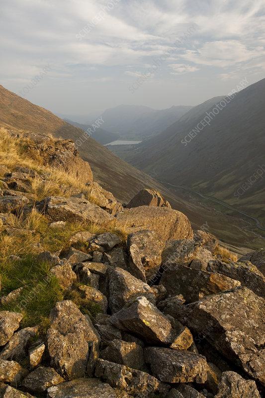 Kirkstone Pass, Lake District National Park, Cumbria, UK