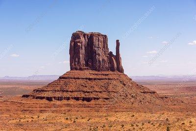 West Mitten, Monument Valley, Arizona, USA