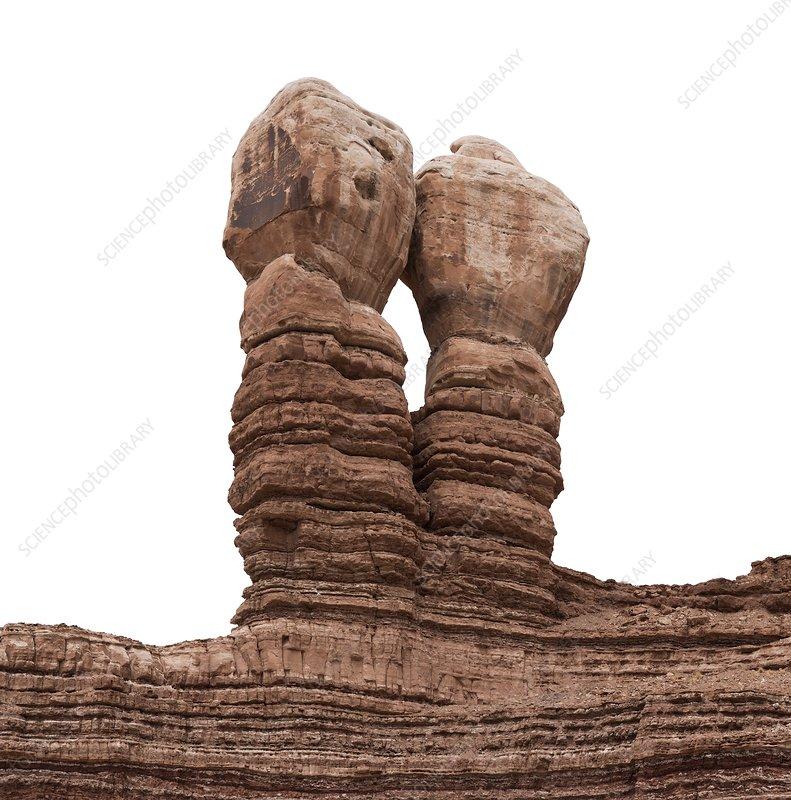 Erosion feature, Bluff, Utah, USA