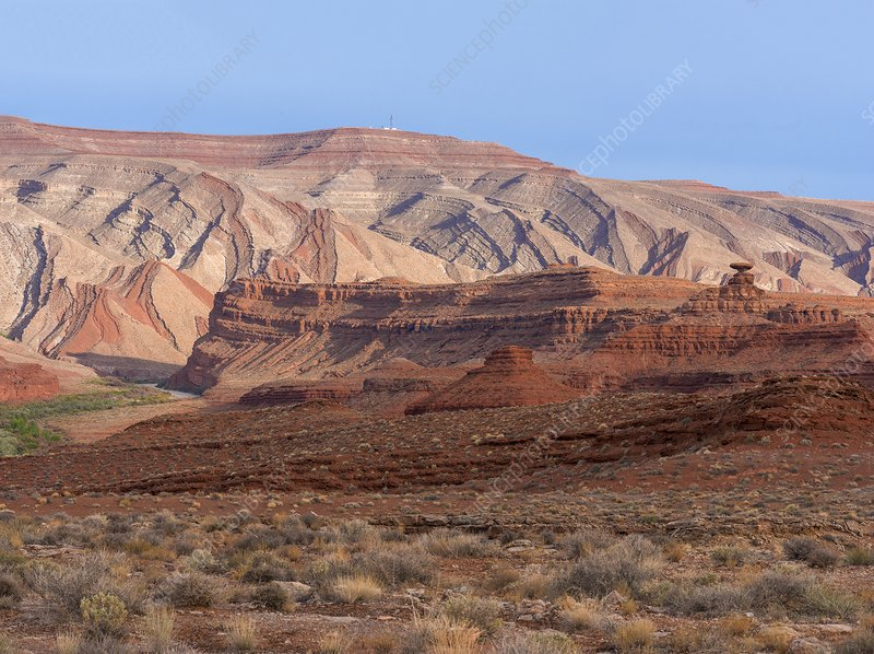 Raplee Anticline at Mexican Hat, Utah, USA